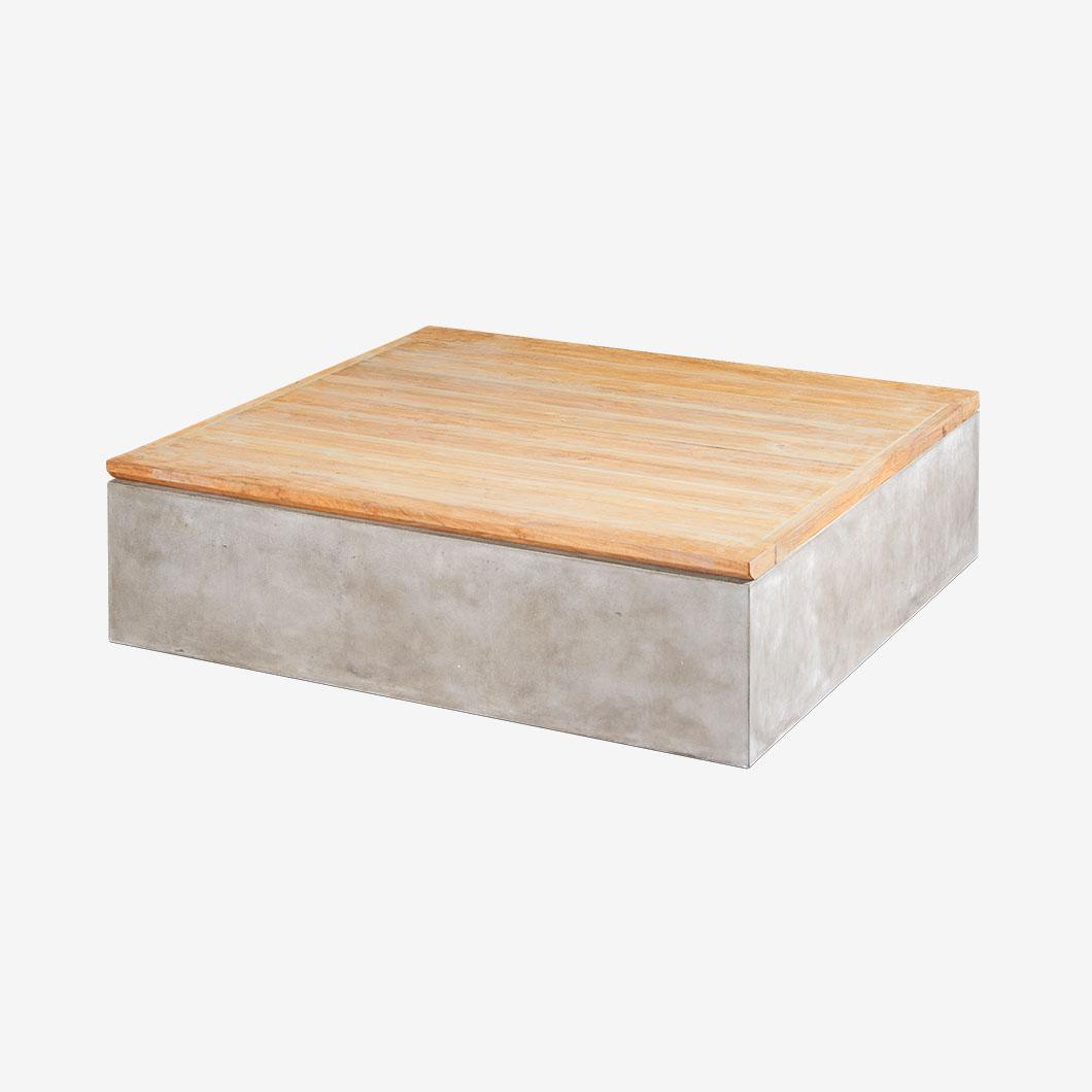 Authentico Lounge Tisch mit Stauraum | SaVeri